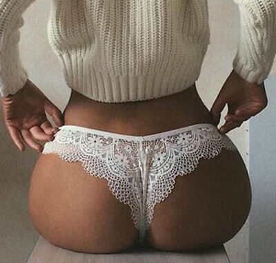 New Women's Sexy Lace G-string Briefs Panties Thongs Lingerie Underwear Knickers