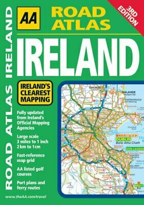 Road Atlas Ireland (AA Atlases and Maps) by AA Publishing Paperback Book The