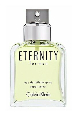Eternity by Calvin Klein 3.4 oz EDT Cologne for Men Brand New Tester