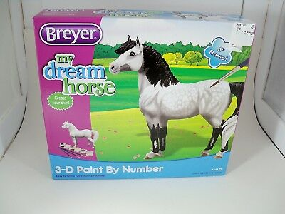 """Breyer My Dream Horse 3-D Paint by Number 4203 6"""""""
