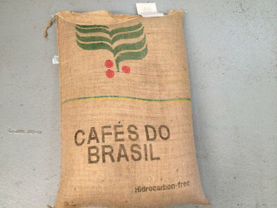 BRAZIL SANTOS Raw green coffee beans | Soprano Coffee $17.85/kg for 2.5kg