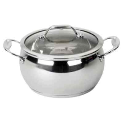 David Burke Gourmet Pro Splendor Stainless Steel 2-quart Sauce Pot with Lid