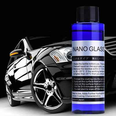 100ml Car Super Hydrophobic Glass Coating Liquid Ceramic Coat Auto Paint Care