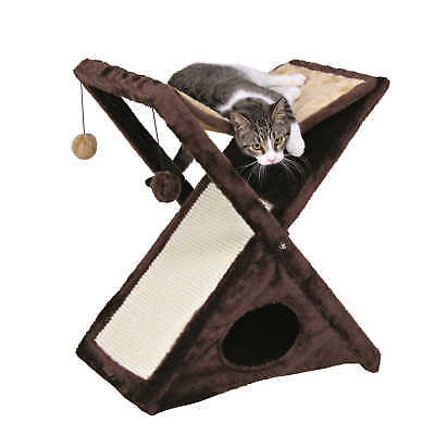 NEW Trixie Pet Products Miguel Cat Scratching Tower ~ Kitty Scratch Board Toy