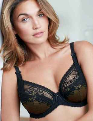 Charnos Sienna Underwired Full Cup Bra in Paradise Aqua Blue RRP £28 30D 30DD