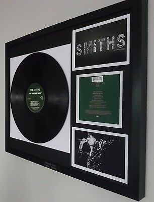 The Smiths The Queen Is Dead Framed Original Vinyl Album-Morrisey