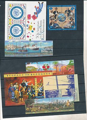 90179/ UNO  NY ** MNH Lot / Mixture mit Blocks