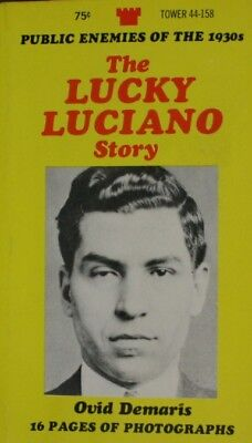 The Lucky Luciano Story, Ovid Demaris, Very Good Book