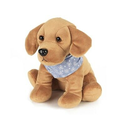 Warmies Cozy Alfie The Labrador Pets Heatable Dog Microwaveable Soft Animal Toy