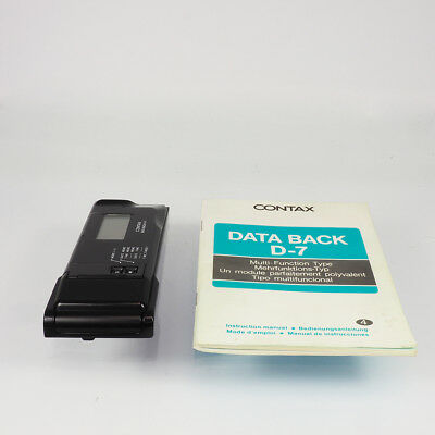 Contax Data Back D7 für Contax 167MT