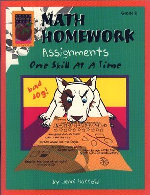 Math Homework Assignments, Grade 2: One Skill at a