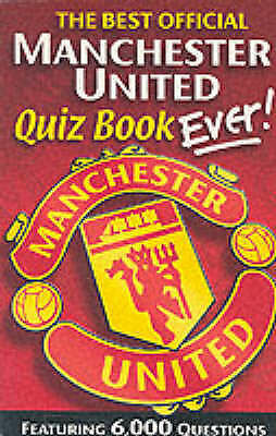 The Official Manchester United Quiz Book, Ponting, Ivan, Very Good Book