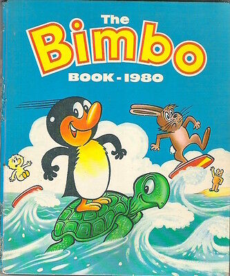 THE BIMBO BOOK ANNUAL 1980 D C Thompson repaired spine Collectable Childrens'