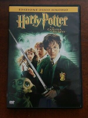 Dvd - Harry Potter E La Camera Dei Segreti