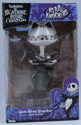 nightmare before christmas Head Knocker Boxed New Collectible