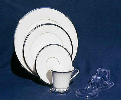 12 Cup,Saucer & Matching plate stands - espresso tea cup, dinnerware, displayers