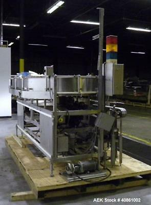 Used- Solbern 301 Solid Product Filler. Capable of speeds of 100 up to 500 BPM.