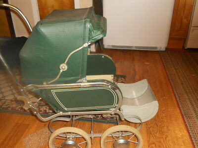 VINTAGE...... COLLIER.. Baby / Doll Buggy Stroller Carriage