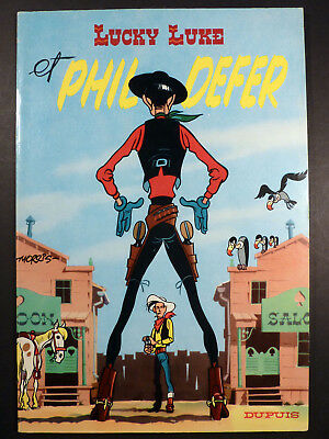 Lucky Luke et Phil Defer de Morris Ed. Dupuis 1964 TTBE