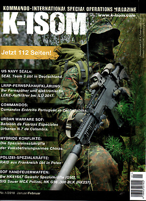 K-ISOM 6/2017 Special Operations Magazin    u. a. 45 jahre GSG 9