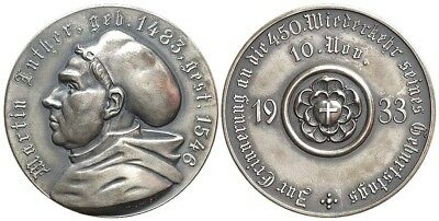 M- Germany, Medal 1933, Reformation, Martin Luther