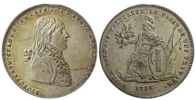 M- France, Directory (1795-1799). Medal 1796, BUONAPARTE GENERAL
