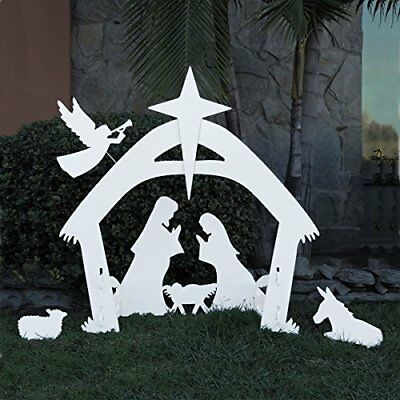 Christmas Outdoor Nativity Scene Large Yard Nativity Set Lawn Outdoor Decoration