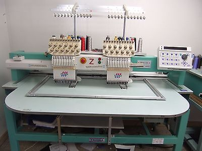 Tajima Embroidery Machine 2 Head 12 Needle