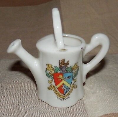 Lovely Gemma crested china watering can - Margate