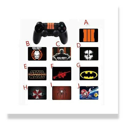 PS4 Dualshock Controller Touchpad Protective Skin Vinyl Stickers Decal Cover