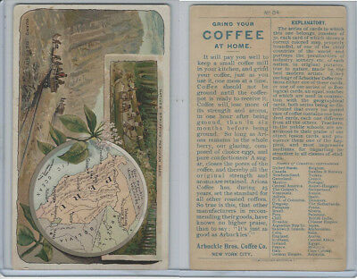 K3 Arbuckle Coffee, Principle Nations of the World, 1890, #84 Peru