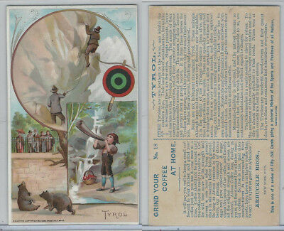 K4 Arbuckle Coffee, History Sports and Pastimes, 1890, #18 Tyrol
