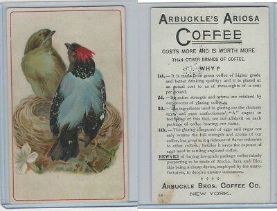 K9 Arbuckle Coffee, General Subjects, 1890, #56 Birds