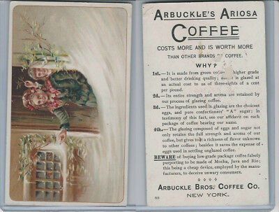 K9 Arbuckle Coffee, General Subjects, 1890, #88 Child, Grandmother, Snow