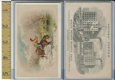 K9 Arbuckle Coffee, General Subjects, 1890, Boy Riding Donley