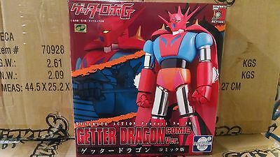 Evolution Toy Dynamite Action No 36 Robo G Getter Dragon Comic Version  new misb