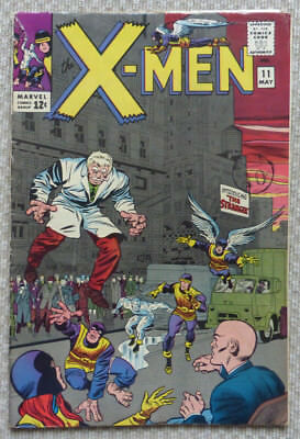 X-MEN #11, ORIGINAL SILVER AGE CLASSIC, 1965. 1st APPEARANCE OF 'THE STRANGER'.