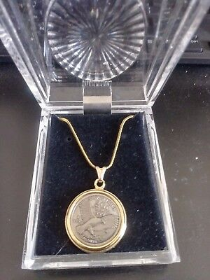Silver Issue 1776 2Gr .999 Fine Silver Coin Pendant 8528178 New In Box
