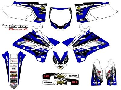 2015-2018 Yamaha Yz 125 250 Graphics Kit Decals Deco Decor Yz125 Yz250 2017 2016