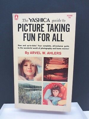 Vintage 1966 YASHICA Guide To Picture Taking Fun For All Paperback Book Free S/H