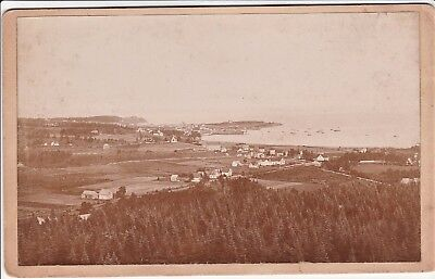 RARE Photo LOT of 5 - North Head Grand Manan Island  New Brunswick Canada 1880s