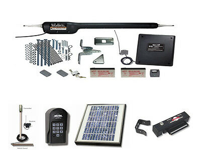 FM500 - GATE OPENER KIT-- Mighty Mule HD Silver Series Single - With Everything!