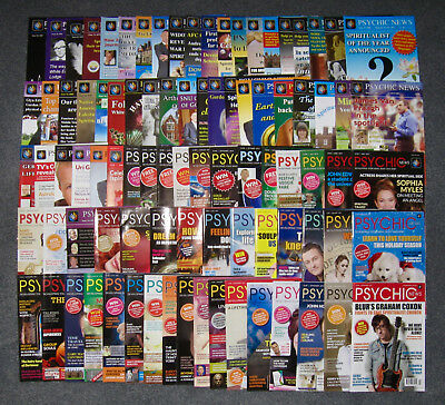 Psychic News Magazine - Set of 90 Issues (December 2011 - November 2017)