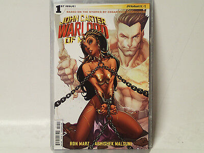 John Carter: WARLORD of MARS comic #1A  Dynamite Entertainment 2014 VF/NM  FL