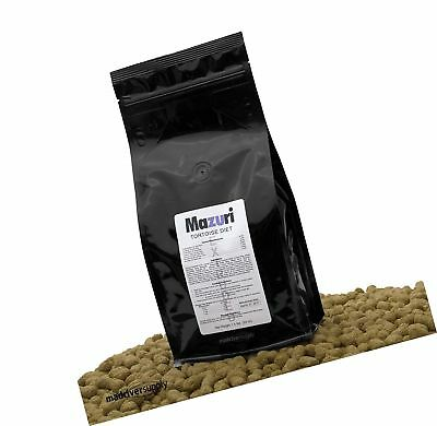 "1.5 lbs Mazuri Tortoise Diet/Feed/Food An Extruded 1/2"" x 3/4"" Length Pellet ..."