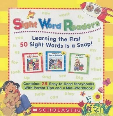 NEW Sight Word Readers Boxed Set By Scholastic Book with Other Items