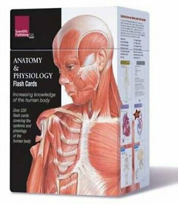 NEW Anatomy and Physiology Flash Cards By Scientific Publishing Card or Card Dec