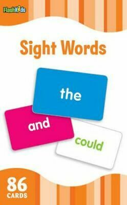 NEW Sight Words (Flash Kids Flash Cards) By Flash Kids Editors Card or Card Deck