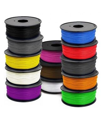 3D Filament 1.75mm 1kg PLA makerbot/hatchbox