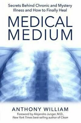 NEW Medical Medium By Anthony William Paperback Free Shipping